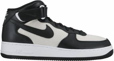 separation shoes 5c34a b5806 Nike Air Force 1 07 Mid Schwarz (Black Black Summit White) Men