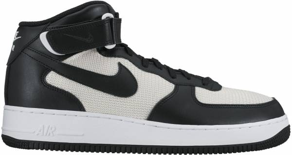 meet 123ef e0f86 Nike Air Force 1 07 Mid Black (Black Black Summit White)