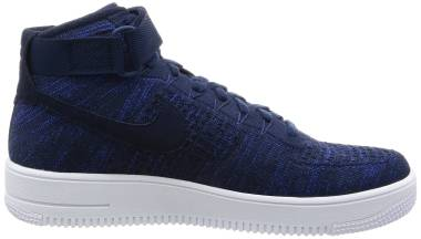 Nike Air Force 1 Ultra Flyknit - Dunkelblau College Navy Black White (817420401)