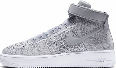 Nike Air Force 1 Ultra Flyknit Mid - Gray (817420003)