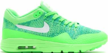 Nike Air Max 1 Ultra Flyknit - Grün Voltage Green White Lucid Green Rio Teal