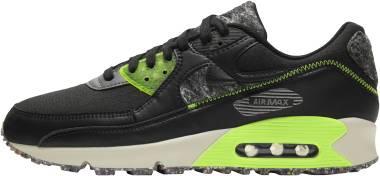 Nike Air Max 90 - Black/Electric Green/Smoke Grey (DD0383001)