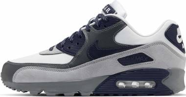 Nike Air Max 90 - White Neutral Indigo Smoke Grey