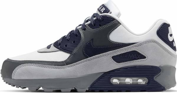 Nike Air Max 90 - White Neutral Indigo Smoke Grey