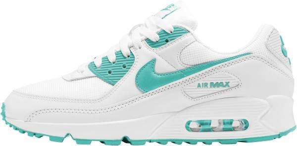 Nike Air Max 90 - White Hyper Jade Black (CT1028102)