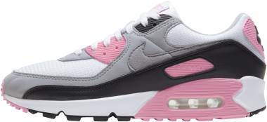 Nike Air Max 90 - White Particle Grey Rose Black (CD0490102)
