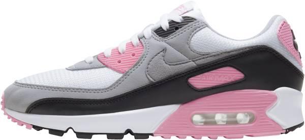 Nike Air Max 90 - White Particle Grey Rose Black