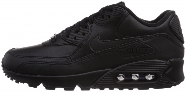 0b179c698 nike air max 90 black leather mens trainers cheap,up to 54% Discounts