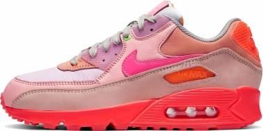 Nike Air Max 90 - Bright Crimson/Pure Platinum (CT3449600)