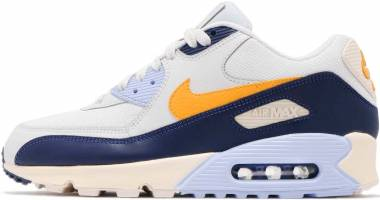 Nike Air Max 90 Essential - Gold Pure Platinum Yellow Ochre Blu 008