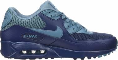 Nike Air Max 90 Essential - Azul Midnight Navy Smokey Blue Midnight Navy (537384420)
