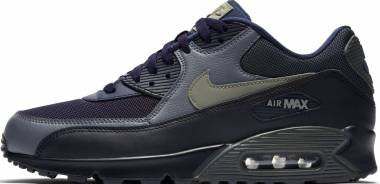 the best attitude 186fb 321cc Nike Air Max 90 Essential Black Grey Men