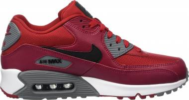 Nike Air Max 90 Essential - Red Gym Redblacknoble Redcool Grey (537384606)