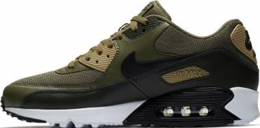 Nike Air Max 90 Essential - Green Medium Olive Black Sequoia Neu 201