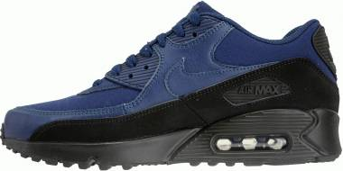 Nike Air Max 90 Essential Black/Midnight Navy Men