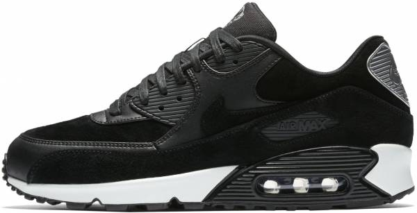 buy popular b8e7a b90b5 Nike Air Max 90 Premium Black (Black Chrome-off White)