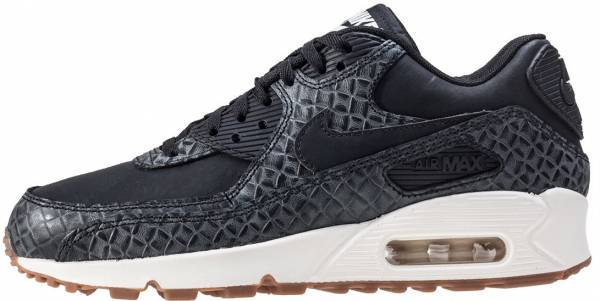 nike air max 90 premium women's black