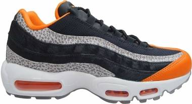Nike Air Max 95 - Black/Black-Granite-SafetyOrange