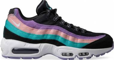 Nike Air Max 95 Black/White/Hyper Jade/Bleached Coral Men