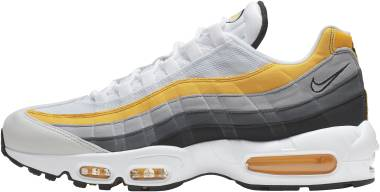 Nike Air Max 95 - Multicolore White White Amarillo Dark Grey 100 (CD7495100)