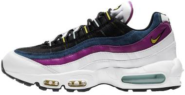 Nike Air Max 95 - White Valerian Blue Cactus Flower Speed Yellow (DC1862100)