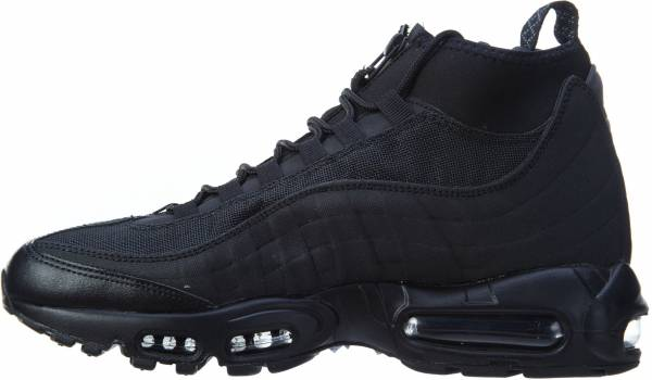 new style d1ad3 db46b Nike Air Max 95 Sneakerboot Black Black
