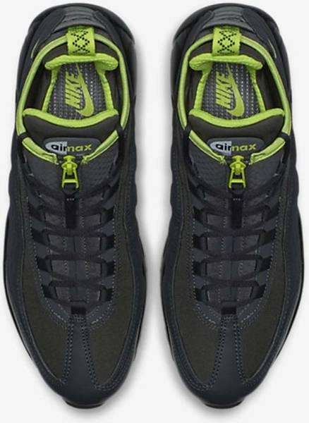 buy Online Nike Air Max 95 Sneakerboot Mens Anthracite Volt
