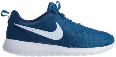 designer fashion b586d 1b4d2 Nike Roshe One Azul (Industrial Blue White Coastal Blue White) Men