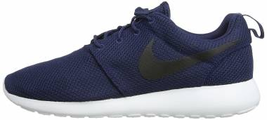 cdd61144b8d76 Nike Roshe One Midnight Navy Black-white Men