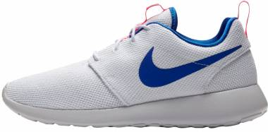 Nike Roshe One - White / Ultra Marine-solar Red (511881100)