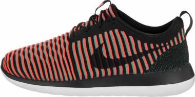Nike Roshe Two Flyknit - Black/Bright Crimson