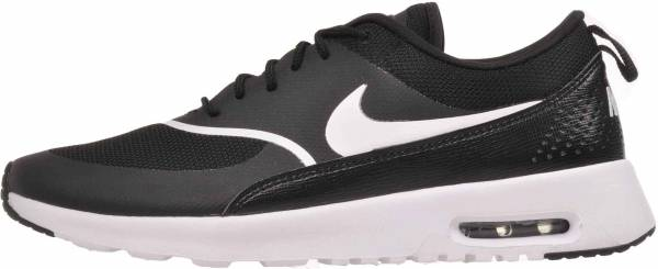 black and white nike thea