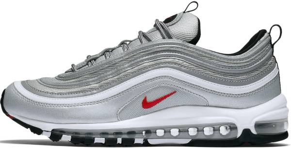 Nike Air Max 97 White, Varsity Red, Dark Grey, Black Mens Size 12