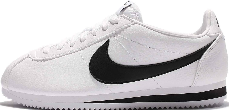 Nike Mens Cortez Trainers Retro Sneakers Premium Outdoor Kicks Black