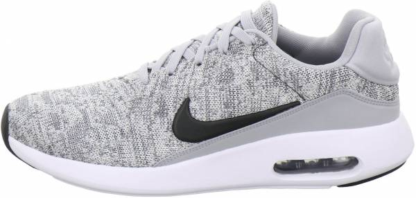 newest cea3a 3571a Nike Air Max Modern Flyknit Gris (Wolf Grey Black White)