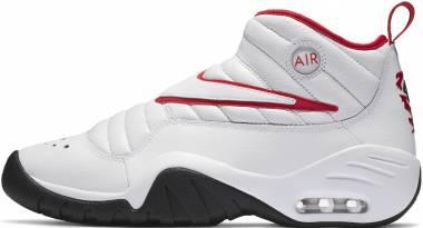 Nike Air Shake Ndestrukt - White/Black/Red (880869100)