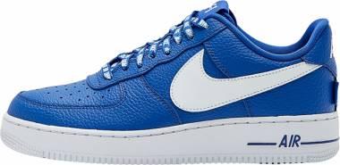 Nike Air Force 1 07 LV8 - Blue Game Royalwhite (823511405)