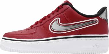 2ff78fad17c3c Nike Air Force 1 07 LV8 Varsity Red Black White Men