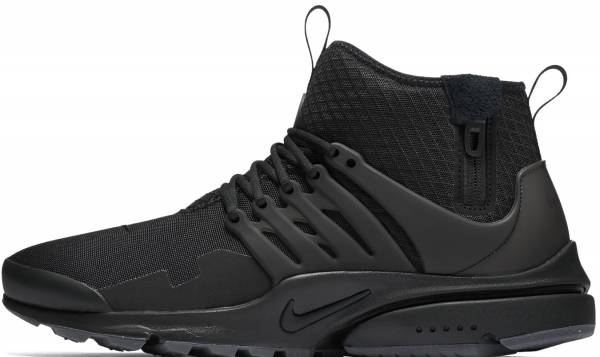 best loved beee8 858c4 Nike Air Presto Mid Utility Black