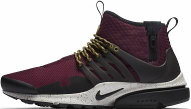 low priced ea1bf f32d3 Nike Air Presto Mid Utility Bordeaux Black-pale Grey-desert Moss Men