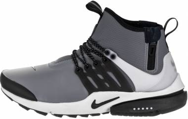 Nike Air Presto Mid Utility - Cool Grey/Black-off White-volt (859524001)