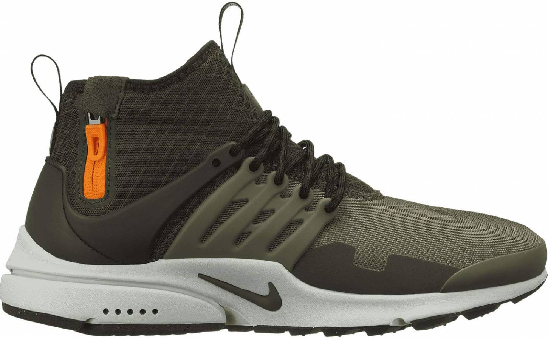 Nike Air Presto Mid Utility sneakers in grey brown | RunRepeat