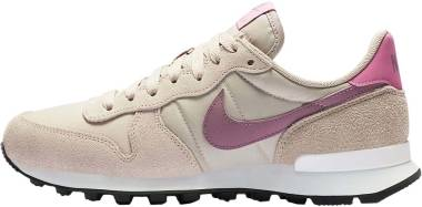 Nike Internationalist - Piedra Fósil Plum Dust Flamenco Mágico