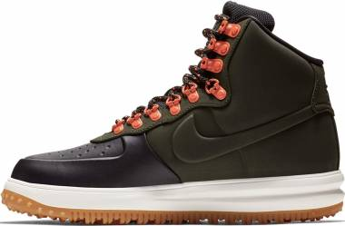 cheap for discount 63db2 e86ed Nike Lunar Force 1 Duckboot Black Sequoia-sail-gum Light Brown Men