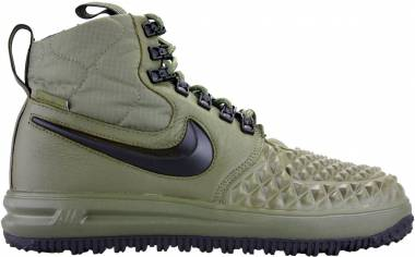86e1d6a02f36 Nike Lunar Force 1 Duckboot Medium Olive Black Wolf Grey Men