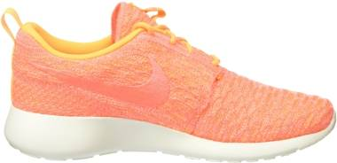 Nike Roshe One Flyknit - Orange Laser Orange Bright Mango Sail