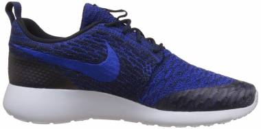 Nike Roshe One Flyknit - Blau (Drk Obsdn/Rcr Bl-dp Ryl Bl-pr 403)