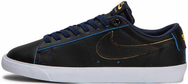 Nike SB Air Zoom Blazer Low GT Black/Black-amarillo-coast