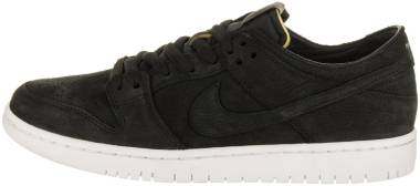 Nike SB Dunk Low Pro - Black Black Summit White