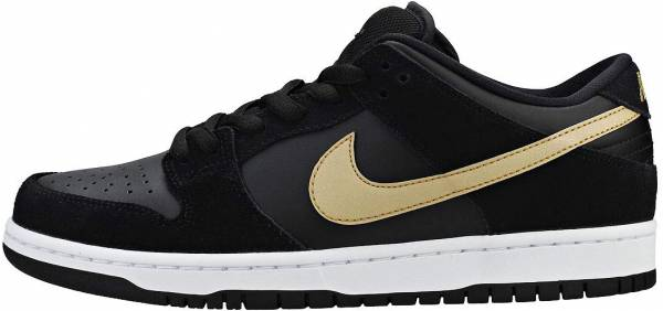 Nike SB Dunk Low Pro - Multicolore Black Metallic Gold White 002